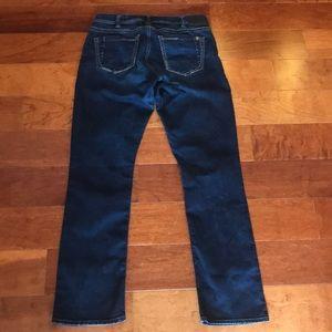 Silver SUKI HIGH STRAIGHT Super Stretch Jeans (31x32)